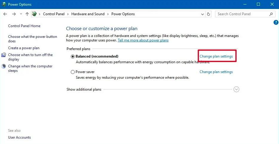 Change USB Power Management Settings