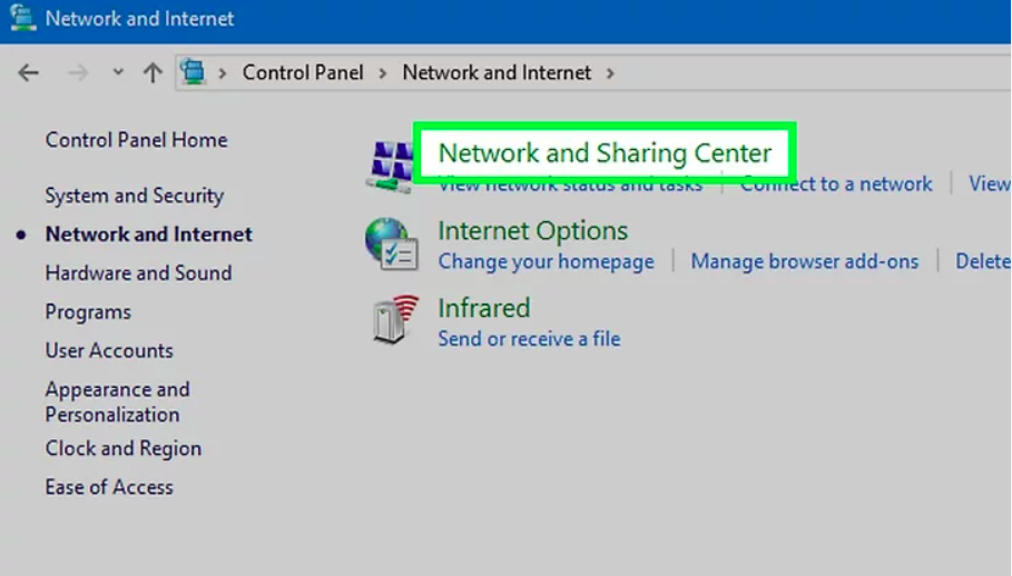 Make sure your computer is connected to network