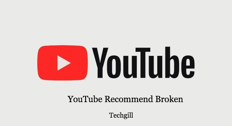 youtube recommended broken